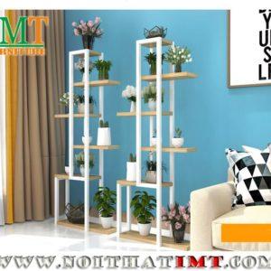 Kệ chậu cây để trang trí loza chung cư IMT52-1