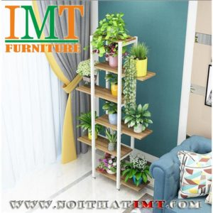 Kệ chậu cây trang trí phòng khách IMT51-1