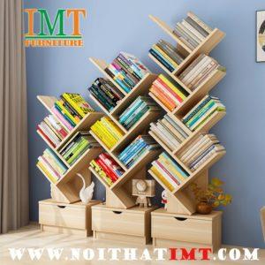 Kệ trang trí kết hợp sách IMT9-01