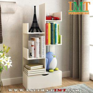 Kệ sách nghệ thuật 3 tầng IMT55-1