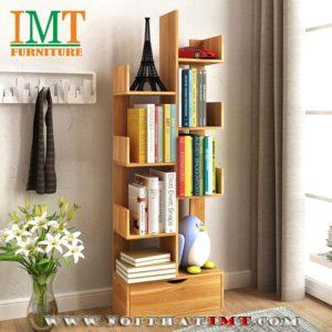 Kệ sách nghệ thuật 4 tầng IMT56-1