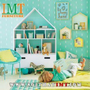 Kệ sách ngôi nhà cho bé yêu IMT47-1