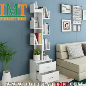 Kệ sách trang trí phòng khách IMT50-1