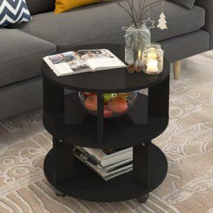 Bàn sofa kiểu dáng đẹp màu đen IMT 40-32