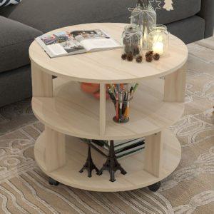 Bàn sofa kiểu dáng đẹp màu gỗ IMT 40-31