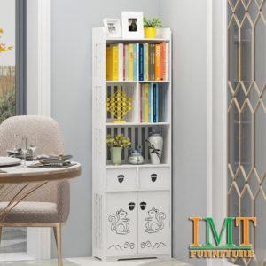 Kệ sách trang trí phòng khách IMT50-3