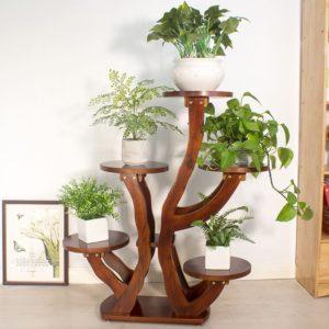 Kệ trang trí kết hợp để chậu cây, hoa ( Đủ Màu) IMT 113