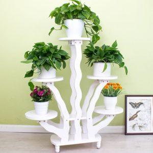 Kệ trang trí kết hợp để chậu cây, hoa ( Đủ Màu) IMT 112