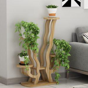 Kệ trang trí kết hợp để chậu cây, hoa ( Đủ Màu) IMT 111