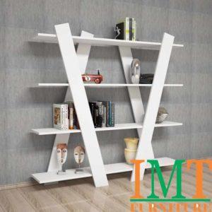 Kệ trang trí nghệ thuật bằng gỗ IMT-78-1