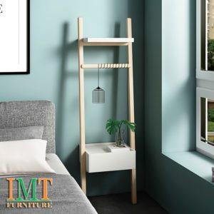 Kệ trang trí phong ngủ phong cách tối giản Minimalism IMT 1001