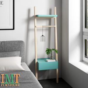 Kệ trang trí phong ngủ phong cách tối giản Minimalism IMT 1002