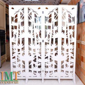 Vách Ngăn Bình Phong Trang Trí Phòng Khách Đẹp IMT 573-1