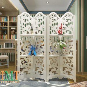 Vách Ngăn Bình Phong Trang Trí Phòng Khách Đẹp IMT 679-1