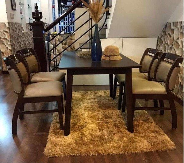 bộ bàn ăn Sala 4 ghế IMT669