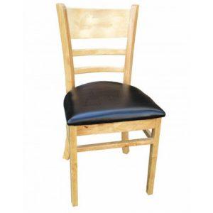 Ghế mặt nệm IMT656 chân gỗ, nhiều màu đẹp