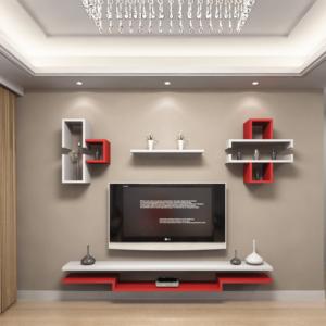 Kệ tivi treo tường trang trí phòng khách IMT-12016