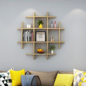 Kệ treo tường trang trí phòng khách IMT-12014