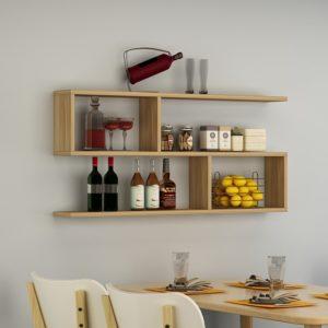 Kệ treo tường trang trí phòng khách IMT-12015