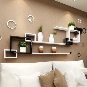Kệ treo tường trang trí phòng khách phòng ngủ IMT-12005