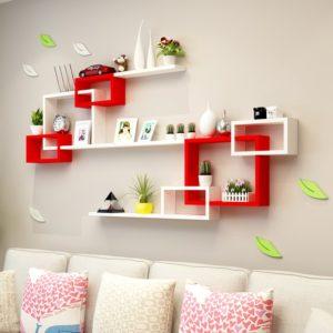 Kệ treo tường trang trí phòng khách phòng ngủ IMT-12006