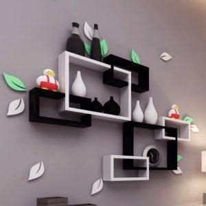 Kệ treo tường trang trí phòng khách phòng ngủ IMT-12007