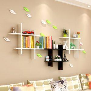 Kệ treo tường trang trí phòng khách 3 cái IMT-12009