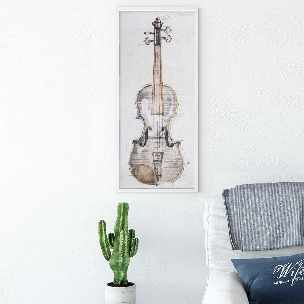 Tranh canvas đàn violin IMT-T1006-2