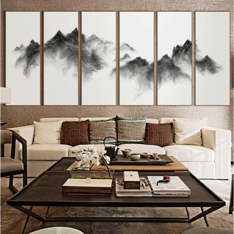 phân phối tranh phong cảnh trừu tượng tại khu vực Hóc Môn